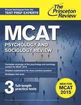 MCAT Psychology and Sociology  Review: New for MCAT 2015 - eBook