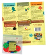 Maker Fun Factory VBS: Try This at Home Sticker Sheets, 10 sheets