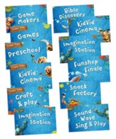 Maker Fun Factory VBS: Station Sign Posters, 12 pk