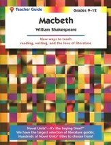 Macbeth, Novel Units Teacher's  Guide, Grades 9-12