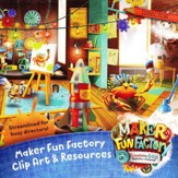 Maker Fun Factory VBS: Clip Art & Resources CD