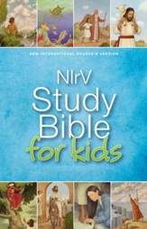 NIrV Study Bible for Kids, hardcover