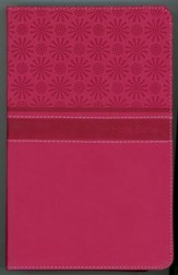 NIrV Gift Bible, Duo-Tone Hot Pink - Slightly Imperfect