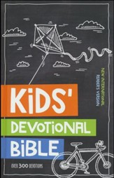 NIrV Kids Devotional Bible, Hardcover