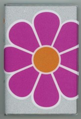 NIV Glitter Bible Collection Pink Flower, Flexble cover