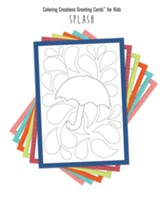 Coloring Creations Greeting Cards - Splash