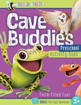 Buzzly's Buddies: Cave Buddies Preschool Activity Book
