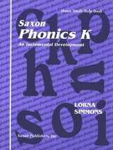 Saxon Phonics K, Teaching Tools