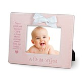 A Child of God Photo Frame, Pink
