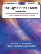 Light in the Forest, Novel Units Student Packet, Grades 7-8