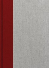 Holman Study Bible: NKJV Edition, Crimson and Gray Cloth Over Board, Thumb-Indexed