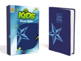 KJV Kids Study Bible, Leather-Look, Galaxy Blue - Slightly Imperfect