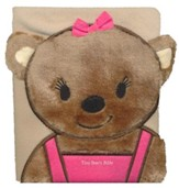 Tiny Bears Bible, Pink, Board Book
