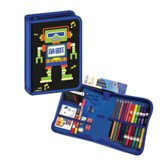 K-4 All-in-One School Supplies / Art Kit Robot Design