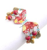 Believe Butterfly, Beaded Bracelet
