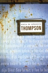 Biblia de Ref. Thompson RVR 1960, Tapa Dura  (RVR 1960 Thompson Chain Reference Bible, Hardcover)