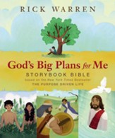 God's Big Plans for Me Storybook Bible - Slightly Imperfect