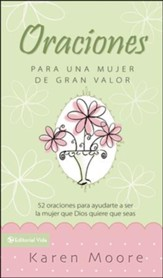 Libro de Oración para una Mujer de Gran Valor  (Becoming a Woman of Worth, Prayer Book)