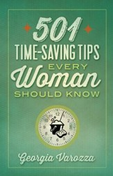 501 Time-Saving Tips Every Woman Should Know - eBook