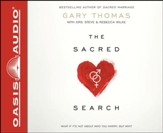 Sacred Search Unabridged Audiobook on CD
