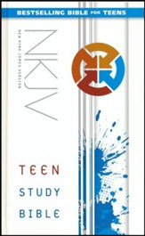 NKJV Teen Study Bible, hardcover