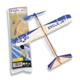 Balsa Plane, Rubberband Powered