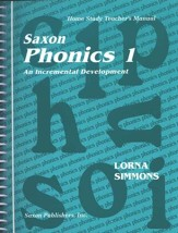 Saxon Phonics 1, Teacher's Manual