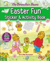 The Berenstain Bears Easter Fun Sticker & Activity Book - Slightly Imperfect