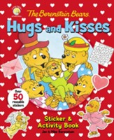 The Berenstain Bears Hugs and Kisses Sticker & Activity Book - Slightly Imperfect
