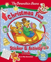 The Berenstain Bears Christmas Fun Sticker and Activity Book - Slightly Imperfect