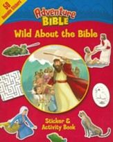 Wild About the Bible Sticker and Activity Book - Slightly Imperfect