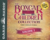 The Boxcar Children Collection Volume 7: Benny Uncovers a Mystery Haunted Cabin Mystery Deserted Library Mystery - unabridged audiobook on CD