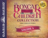 The Boxcar Children Collection Volume 8: The Animal Shelter Mystery Old Motel Mystery Mystery of the Hidden Painting - unabridged audiobook on CD