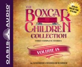 The Boxcar Children Collection Volume 18: The Mystery of the Lost Mine, The Guide Dog Mystery, The Hurricane Mystery - unabridged audiobook on CD