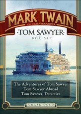 Tom Sawyer Box Set - unabridged audiobook on MP3-CD