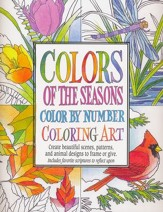Colors of The Seasons, Color By Number Coloring Art