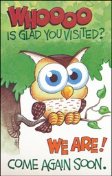 Come Again Soon, Owl Postcards, 25