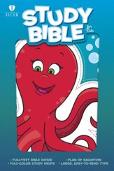 HCSB Study Bible for Kids, Octopus - eBook