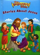 The Beginner's Bible Stories About Jesus, boardbook