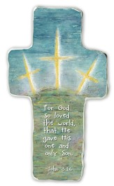 God So Loved the World, Cross Plaque