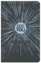 NIrV May the Faith Be with You Holy Bible, Imitation Leather, Black