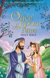NIrV Once Upon a Time Holy Bible--hardcover, printed caseside