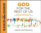 God for the Rest of Us - unabridged audio book on MP3-CD