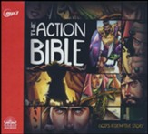 The Action Bible - unabridged audio book on MP3-CD