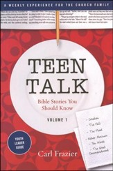 Table Talk Volume 1 - Bible Stories You Should Know - Teen Talk Youth Leader Guide