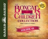 The Boxcar Children Collection Volume 48: The Celebrity Cat Caper, Hidden in the Haunted School, The Election Day Dilemma - unabridged audio book on CD