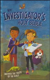 NIV Investigator's Holy Bible-Hardcover  - Slightly Imperfect
