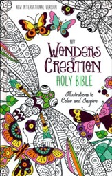 NIV Wonders of Creation Holy Bible, hardcover - Slightly Imperfect