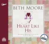 A Heart Like His: Intimate Reflections on the Life of David - unabridged audio book on MP3-CD