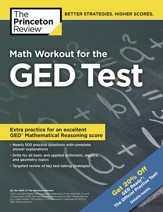 Math Workout for the GED Test -  eBook